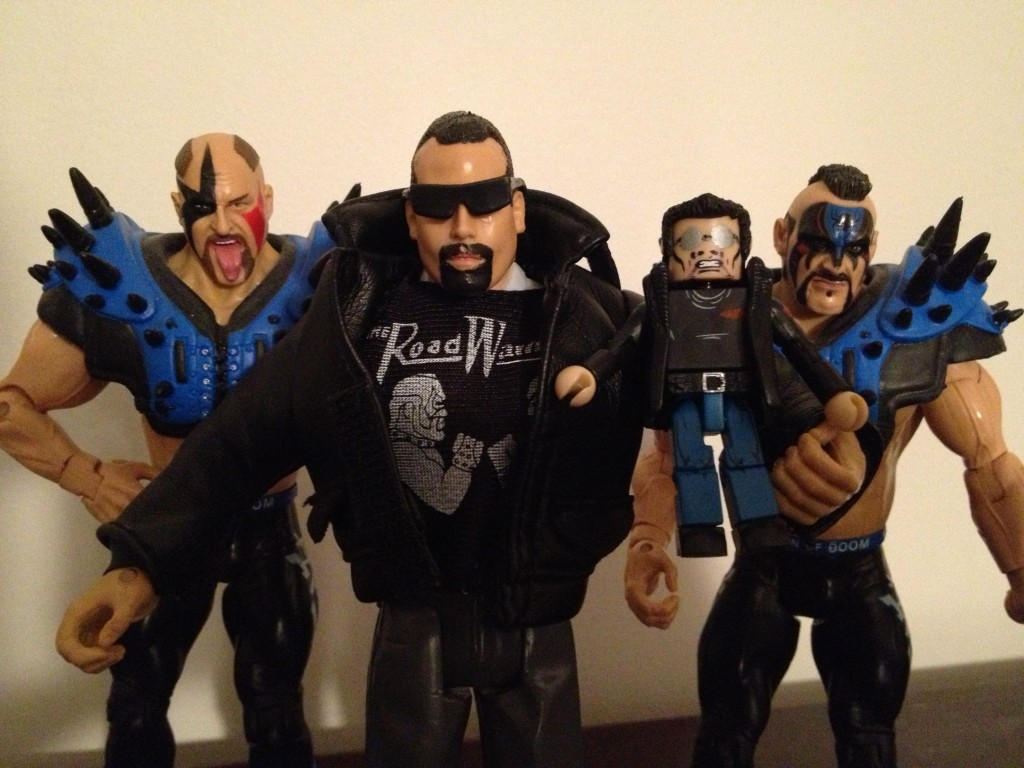 Custom Paul Ellering & Rocco Jakks Figure