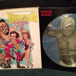 "Bodyslam Wrestling Movie Sundtrack & Freddie Blassie ""Pencil Neck Geek"" Picture disc Record"