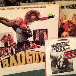 Bad Guy Wrestling Movie Soundtrack & Badstreet USA 45 record single