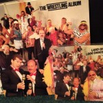 "WWF Wrestling Album & ""Land Of A Thousand Dances"" 45 single Vinyl"