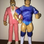"Custom WWE Figure - ""The Rock"" Don Muroco with Manager Superstar Billy Graham"